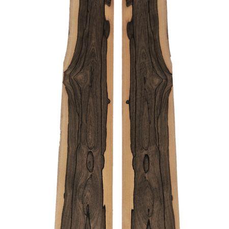 Book Matched Ziricote Real Wood Veneer Bois