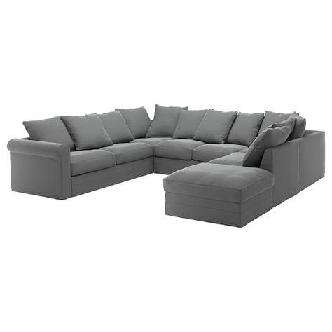 Us Furniture And Home Furnishings U Shaped Sofa Fabric Sofa