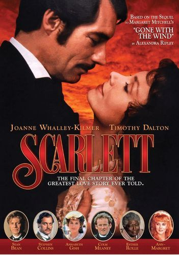Scarlett Dvd Best Buy Joanne Whalley Timothy Dalton Margaret Mitchell
