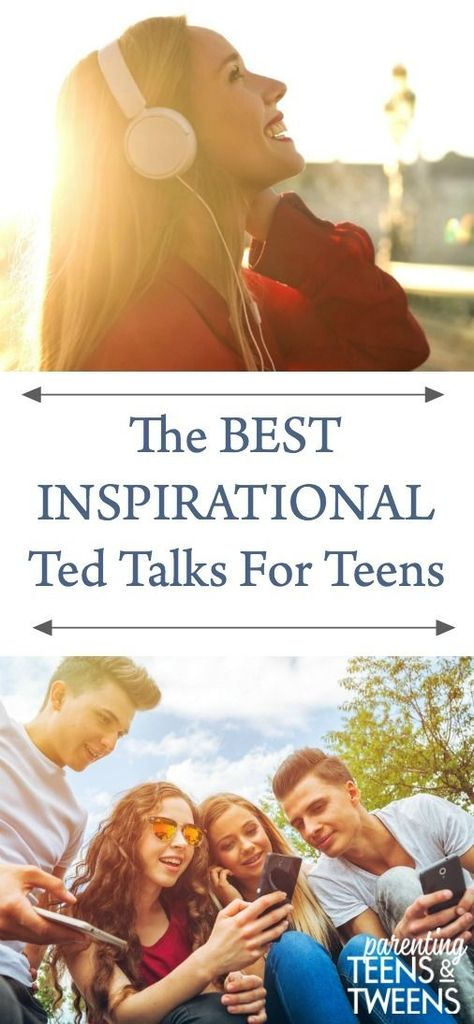 The Best Inspirational Ted Talks for Teens