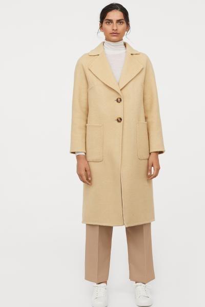Mantel aus Wollmischung in 2019 | Coat, Jackets, Outerwear women