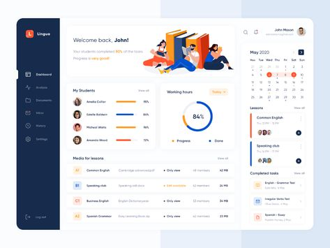 Best Website Dashboard UI Examples for Design Inspiration — #53