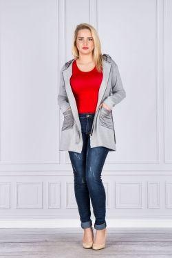 Bluzki Dla Puszystych Size Plus Duze Rozmiary Ptakmoda Com Fashion Coat Duster Coat