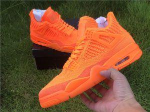 Jordan 4 Retro Flyknit Total Orange