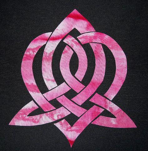 Easy Celtic Heart Knot Quilt Applique Pattern Design