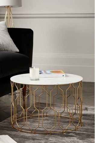 Ella Gold Coffee Table Neutral Colour Scheme In 2019