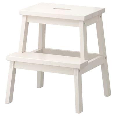 Panche Di Legno Ikea.Muskan Panca Bianco 58x38 Cm Idee Ikea Sgabelli E Scaletta
