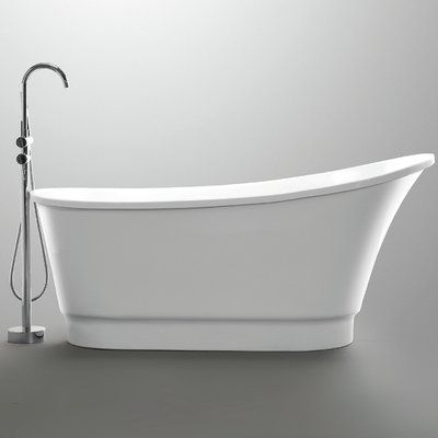 Anzzi Prima Series 67 X 31 Freestanding Soaking Bathtub