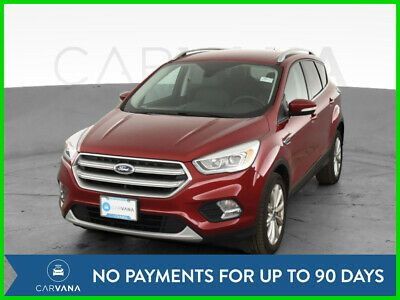 Ebay Advertisement 2017 Ford Escape Escape Titanium Sport Utility