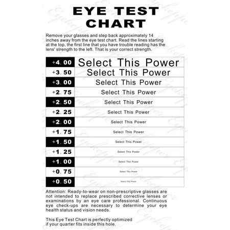 Reading Glasses Test Chart Computer Strength Eye Chart Pilot Eye Chart Reading Glasses Test Reading Glasses Reading Glasses Men Readers Glasses Reading Glasses