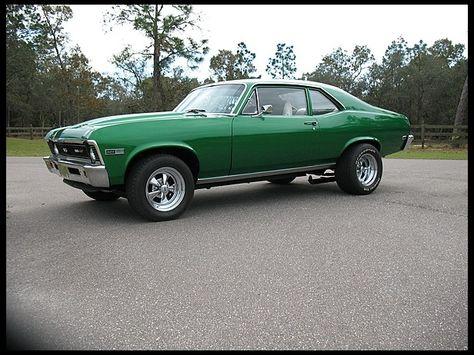 SATURDAY ---- Lot K48 1969 Chevrolet Nova Resto Mod 427/425 HP, Automatic - $6,210 -$11,760 -$25,680
