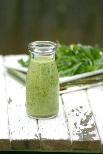 Avocado Citrus Salad Dressing - whiz this up in a blender - no cream, no oil! Healthy and delicous! Inspired by a dressing I had at Whole Foods but much more cost effecient!