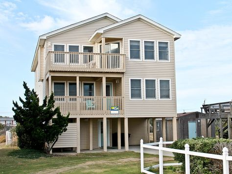 Sea Sun Greetings 263 Exterior Outer Banks Vacation Outer Banks Vacation Rentals Obx Vacation Rentals