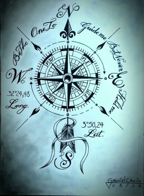 Compass- Kompass  Compass   -#CompassTattooIdeasforwomen #CompassTattooIdeasmandalas #CompassTattooIdeastraditional #CompassTattooIdeaswatercolor #feminineCompassTattooIdeas