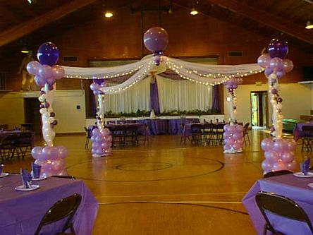 dance decorations | dance the night away under the glittering lights