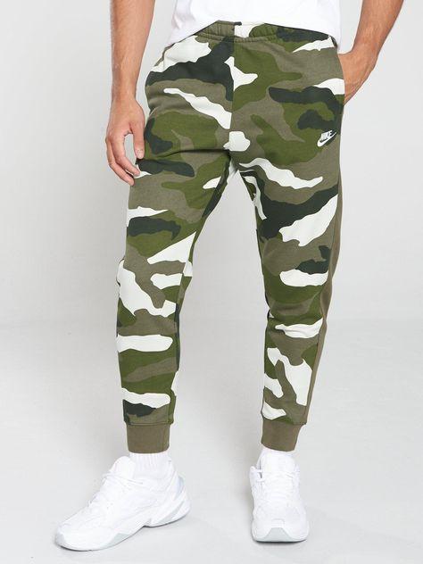 Men's Nike Sportswear Club Camo Joggers