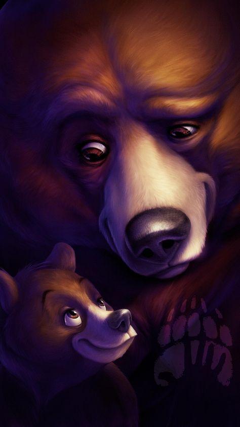 Brother Bear (2003) Phone Wallpaper | Moviemania