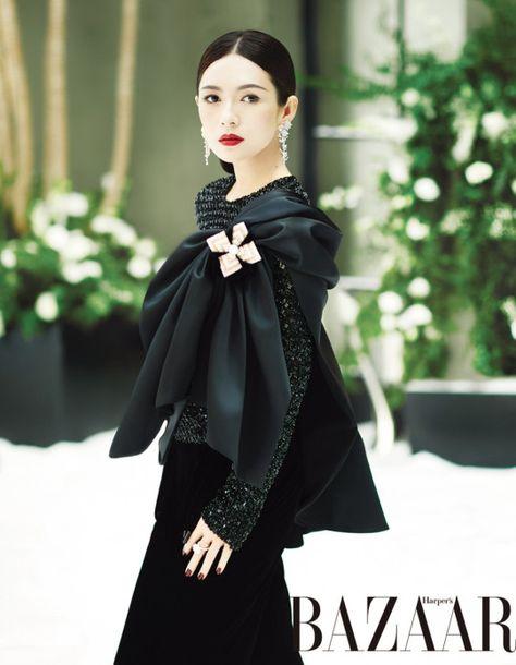 Zhang Ziyi 章子怡 ↬ Harper's Bazaar (China) December 2016