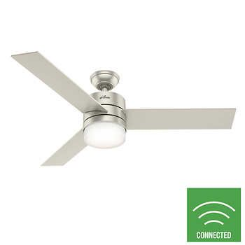 Hunter 54 Eurella Wi Fi Smart Ceiling Fan Ceiling Fan Ceiling Fan Direction Ceiling
