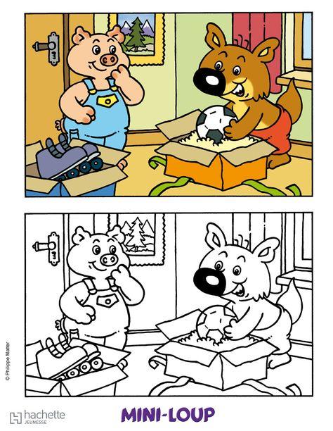14cc75518cf34206a5ca7df0312f457b--minis-comic-book Coloriage Mini Loup A Imprimer @netdeok