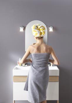 Miroir Non Lumineux Decoupe Deco L 50 X L 70 5 Cm Poli Leroy Merlin En 2020 Idees Vestimentaires Robe Formelle Lumineux
