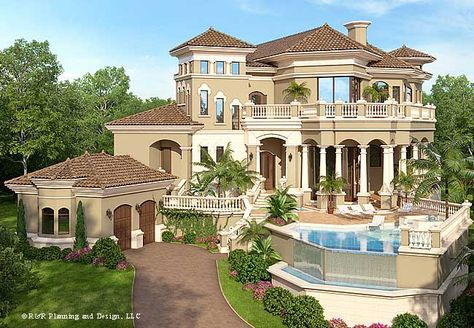 Italian Villa Style House Plans The Cross Between Architect For Ultra Custom Luxury Homes And Plan Designs Vida