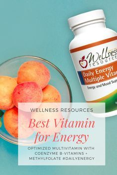 Experience the energy difference when you take vitamins your body can actually absorb and use! Daily Energy Multiple Vitamin is optimized with the highest quality forms of nutrients for energy, mood, and vitality. Discover the quality difference!   Wellness Resources: Better Nutrients, Better Results, Since 1985. Direct to You.  #WellnessResources #DailyEnergy #BestVitamins #FeelEnergized #StressLess