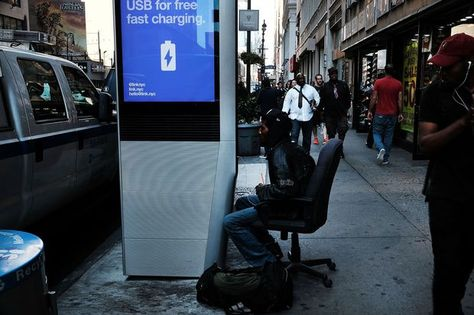 New York cuts off web browsing at public Wi-Fi kiosks amid porn concern     - CNET  Residents have complained about users camping out for hours at the free LinkNYC kiosks.                                             Spencer Platt Getty Images                                          The web-browsing capabilities of New Yorks public Wi-Fi kiosks are being discontinued out of concern users are loitering at the devices for hours and using them to watch pornography in public.  New York Mayor…