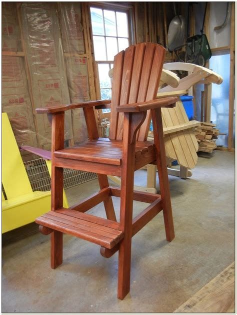 Adirondack Chair Plans Bar Stool Tall Adirondack Chair