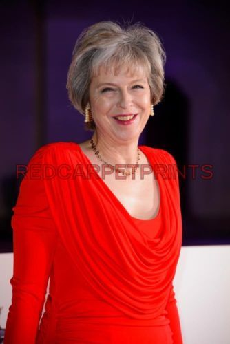 Theresa May Poster Picture Photo Print A2 A3 A4 7X5 6X4