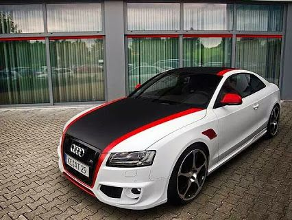 What Do You Think Of This Paint Job Allcarleasing Cool Cars - Audi car jobs