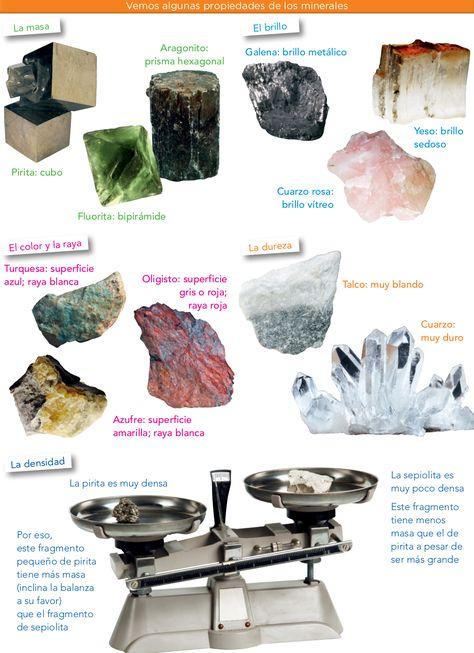 3 Las Rocas Y Los Minerales Ciencias Sociales 5º Canarias Tipos De Rocas Rocas Y Minerales Minerales