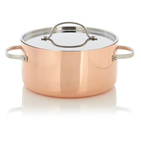 George At Asda Home Copper Stockpot It Would Be Good For