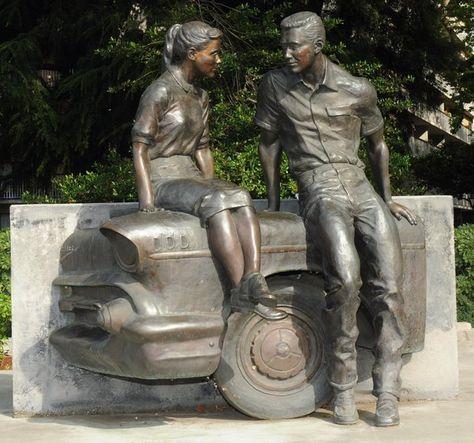 american grafitti statue | plazas sculptures sculpture statue statues bronze sculpting sculpt art ...