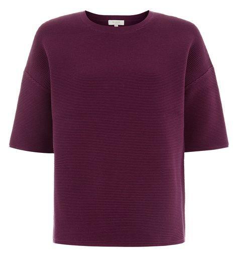 Various Sizes Hobbs Harbour Stripe Ivory Black Sweater RRP £79.