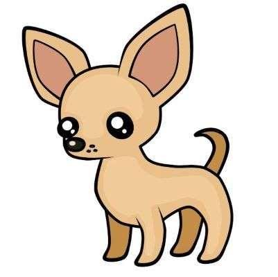 Aprende Como Dibujar Un Perro Chihuahua Paso A Paso 6 Como Dibujar Un Perro Perros Dibujos A Lapiz Dibujos Kawaii De Animales