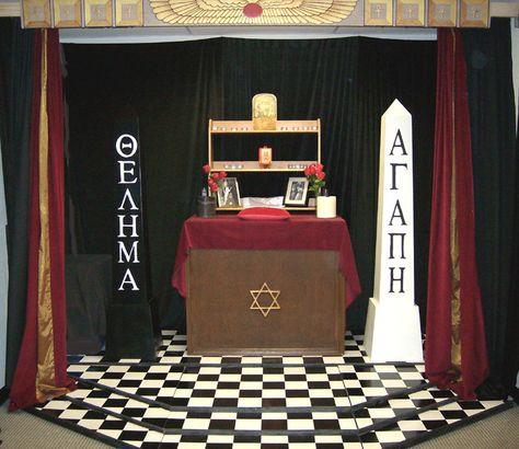 thelema altar