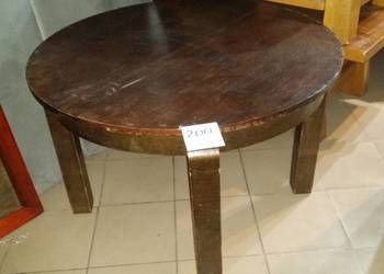 Stary Stol Rozkladany Okragly Furniture Table Decor