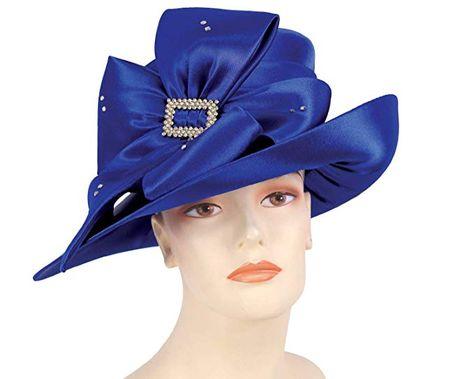 42c863ba366 Ms Divine Women s Satin Year Round Church Hats Dress Formal Hats ...