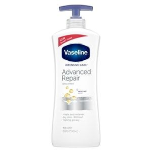 Vaseline Intensive Care Advanced Repair Unscented Body Lotion 20 3 Oz Unscented Body Lotion Body Lotion Unscented Lotion