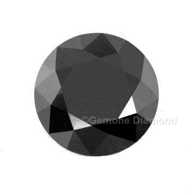 3 00 Carat Natural Loose Solitaire Black Diamond For Vintage Design Engagement Rings Black Diamond Jewelry Colored Diamonds Black Diamond