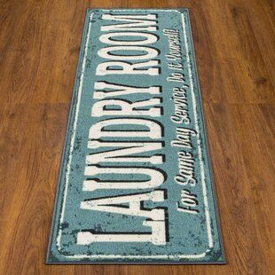 Kitchen Rooster Rugs Wayfair In 2020 Laundry Mat Laundry Room Rugs Laundry Room