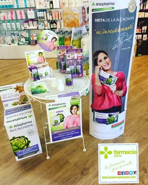 dieta de la alcachofa en farmacias