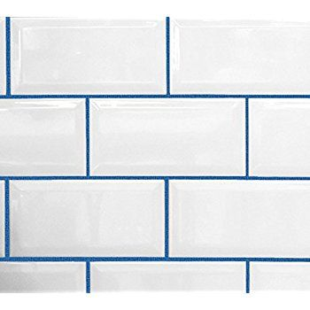 Image Result For White Tile Blue Grout Grout Color Tile Grout