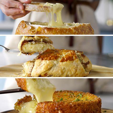 3 Maneiras de Comer Queijo Brie
