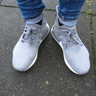 adidas NMD_R1 Primeknit Schuh grau | adidas Deutschland