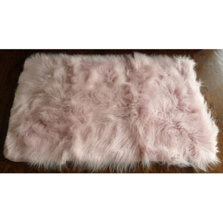 Home Pink Fur Rug Faux Fur Area Rug Furry Rugs