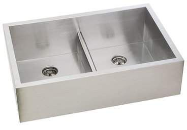 Lenova Permaclean 33 X 21 Double Basin Undermount Kitchen Sink