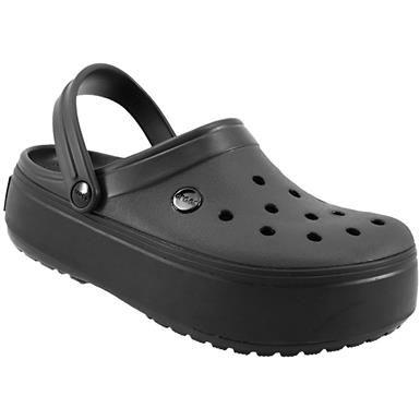 Choose SZ//color Crocs  Band Platform Slide Sandal