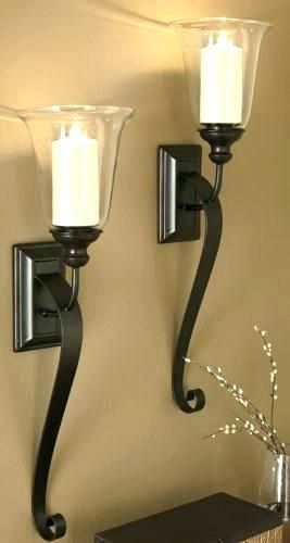 Extra Large Wall Sconces For Candles Topdekoration Com Candle Wall Sconces Wall Candles Candle Sconces Big wall candle holders